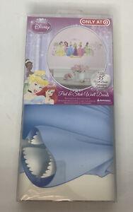 Disney Princess 35 Wall Decals Rapunzel Ariel Cinderella Stickers Decor New
