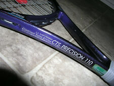 """New listing Prince CTS PRECISION 110 OVERSIZE Tennis Racket STRUNG 4-1/2"""""""