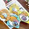 Cartoon Cute Lazy Egg Sealing Stickers Diary Label Decor Scrapbooking DIY CN