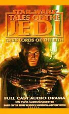 Dark Lords of the Sith : Tales of the Jedi by Tom Veitch (2 Audio Cassettes)
