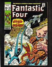 Fantastic Four #114 ~ Who Can Stop The Over-Mind? ~ 1971 (5.0) WH