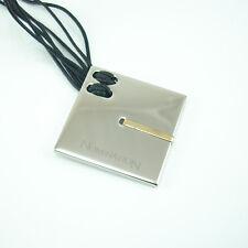 Ciondolo quadrato NOMINATION acciaio con particolare placcato oro giallo