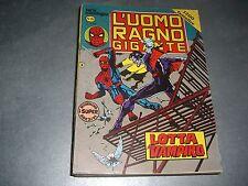 L'UOMO RAGNO GIGANTE SERIE CRONOLOGICA N.86 - CORNO 1983 - OTTIMO CON ADESIVI