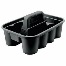 Rubbermaid Deluxe Carry Caddy for Cleaning Products , Black (Fg315488Bla)