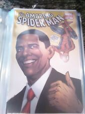 Amazing Spider-Man #583D 2009 Obama Variant 1st Edition 2nd Printing