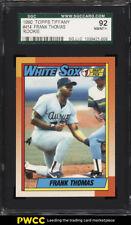 1990 Topps Tiffany Frank Thomas ROOKIE RC #414 SGC 92/8.5 NM-MT+ (PWCC)