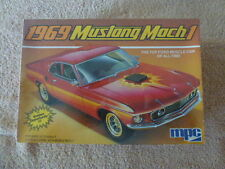 Vintage MPC 1969 Ford Mustang Mach 1- 429 cu. in. Model Kit-Sealed