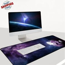 Big Large ! Mouse Keyboard Pad Computer Gaming Desk Soft Mat Optical Mousepad PC