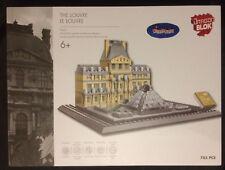 Rare Dragon Blok The Louvre Creator City Lego Mega Bloks Architecture 785 Pcs
