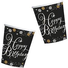 "18 30 40 50 60 Birthday Anniversary Celebration Party ""Sparkling"" MEGA SELECTION"