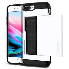 iPhone 7 Plus Case Spigen Slim Armor CS Cover Case Jet White