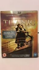 COLLECTORS BLUE-RAY 3D EDITION TITANIC 3D AND 2D BLUE -RAY DISCS