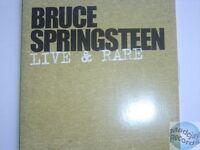 Bruce Springsteen Live & Rare Cd Promo Sampler card sleeve