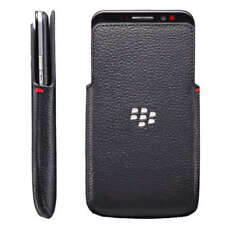 Genuine Original BlackBerry Z30 Black Leather Pocket Pouch HDW-55488-001
