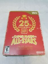 Super Mario All-Stars 25 Anniversary Limited Edition 2010 New Open Box