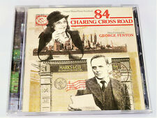 George Fenton 84 CHARING CROSS ROAD Anthony Hopkins Soundtrack CD (VG)