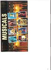 2011  ROYAL MAIL PRESENTATION PACK MUSICALS BRITISH MINT STAMPS
