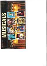 2011  ROYAL MAIL PRESENTATION PACK MUSICALS BRITISH MINT STAMPS