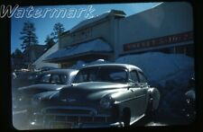 1950s kodachrome Photo slide Chervrolet car  Safeway store Cornet 5-10-25