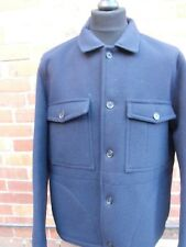 Gloverall for John Lewis  Wool Worker Jacket. Dark Navy Extra Large Americana