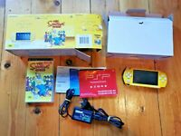 PSP SIMPSONS GAME SPECIAL LIMITED EDITION - RARE PLAYSTATION PORTABLE AUS SELLER