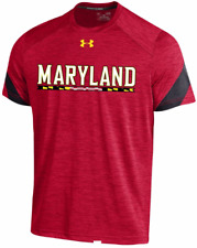 Under Armour Maryland Terrapins Player Issue Training shirt football men team Pe