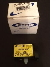 New in Factory Package Rees Heavy Duty Contact Block 50702 B NC - Free Shipping!