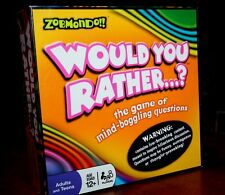 Zobmondo!! Would You Rather...? -The Game of Mind Boggling Questions! Party Game