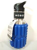 Mobot Firecracker Foam Roller Water Bottle Stainless Steel 18 oz Blue New