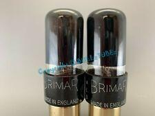 BRIMAR 6SN7GT NIB/NOS BLACK GLASS-HOLY GRAIL TUBES *PLATINUM MATCH on AT1000*