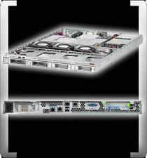 SUN FIRE X2270 INTEL XEON E5504 QUAD CORE 2.0 GHZ 2GB DDR3 RAM 1HE 4 x 3,5 ZOLL