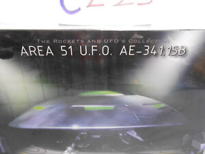 Pegasus # 9100 1:72 Scale Area 51 UFO AE-341.15B Flying Saucer Plastic Model Kit