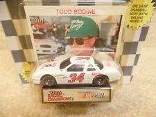 1991 Racing Champions 1:64 NASCAR Todd Bodine Quick Beverage Buick Regal #34 b