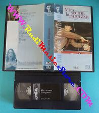 VHS film MICA SCEMA LA RAGAZZA 98 minuti FRANCOIS TRUFFAUT L'UNITA' (F14) no dvd