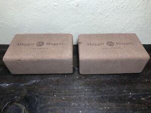 """Yoga Blocks Cork Hugger Mugger * Lot of 2 (9"""" x 5.5"""" x 3.5)"""