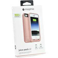 Genuine Mophie Juice Pack Battery Charger Case Cover For iPhone 5/5S/SE RoseGold