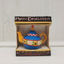 Mary Engelbreit Miniature Teapot Ornament Collection Country Sunflower