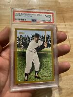MICKEY MANTLE PSA 9 Topps MINT New York Yankees Christmas Investment 2006 #1999