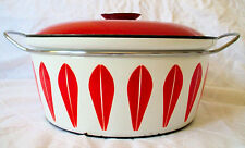 Cathrineholm Red Lotus Catherineholm Greta Prytz Kittelsen Pot Large Dutch Oven