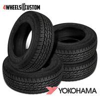 4 X New Yokohama Geolandar A/T G015 265/65R18 114H Tires