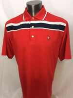 FootJoy Red Golf Shirt Polo Size Large