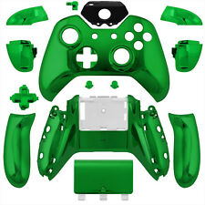 Wireless Controller Full Shell Case Housing for Xbox One Chrome Green