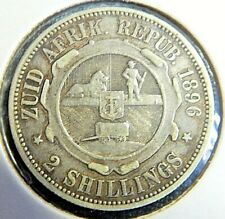 1896 South Africa 2 shillings - VF- # 225
