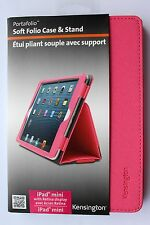 Kensington Soft Folio Case & Stand iPad Mini inc Retina Display PINK K97128WW