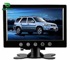 9''TFT LCD Touch Screen Car Headrest Display Monitor Rear View for Backup Camera