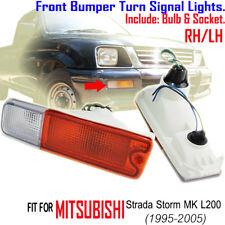 Mitsubishi Starda Storm MK L200 1995-2005 Triton Front Bumper Turn Signal Lights