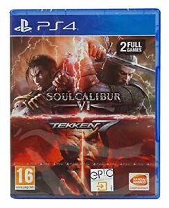 Tekken 7 + Soulcalibur VI (PS4) *Brand New & Sealed* Playstation 4 Game