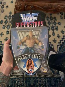NEW 1996 Jakks Titansports WWF Superstars Shawn Michaels Series 3 Action Figure