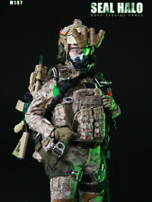 In-stock 1/6 Scale Mini Time Toys Female Soldier HALO M017 Action Figure