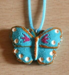 KIDZ GIRLS NECKLACE WITH BUTTERFLY PENDANT & CORD / ROPE CHAIN BRAND NEW 66364